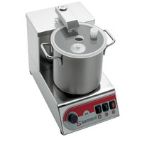 Sammic SK-3 3/5 hp Food Processor Kit with 3.1 Qt. Bowl, Flat Blade, and Perforated Blade