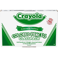 Crayola 688024 3.3mm 240-Count Colored Pencil Classpack