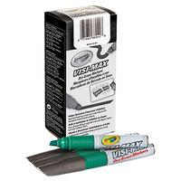 Crayola 986012044 Visi-Max Green Chisel Tip Dry Erase Marker   - 12/Pack