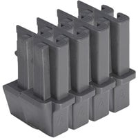 Cambro ETD8580 Camshelving® Elements Stationary Dovetail - 8/Pack