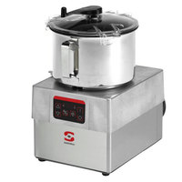 Sammic CKE-8 3 hp Food Processor Kit with 8.5 Qt. Bowl, Toothed blade, and Perforated Blade