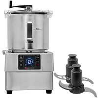 Sammic KE-8V 2 hp Food Processor Kit with 8.5 Qt. Bowl, Toothed blade, and Perforated Blade