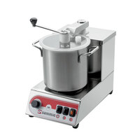 Sammic SKE-3 3/5 hp Food Processor Kit with 3.1 Qt. Bowl, Toothed Blade, and Flat Blade