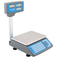 AvaWeigh PCS40T 40 lb. Digital Price Computing Scale with Tower, Legal for Trade