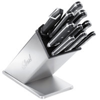 Edlund KBS-2006 9 inch Slanted Stainless Steel Knife Block