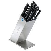 Edlund KBS-2002 12 inch Slanted Stainless Steel Knife Block