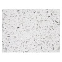 Art Marble Furniture Q403 24 inch x 30 inch Snow White Quartz Tabletop