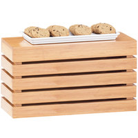 Cal-Mil 1943-11-60 Bamboo Rectangle Crate Riser - 20 inch x 7 inch x 11 inch