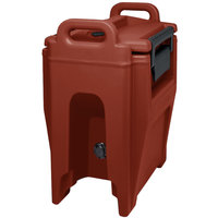 Cambro UC250PL402 Ultra Camtainer 2.75 Gallon Brick Red Insulated Soup Carrier