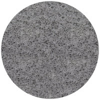 Art Marble Furniture Q405 30 inch Round Storm Gray Quartz Tabletop