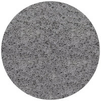 Art Marble Furniture Q405 24 inch Round Storm Gray Quartz Tabletop