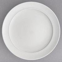Villeroy & Boch 16-3272-2810 Stella Hotel 13 inch White Bone Porcelain Round Platter - 6/Case