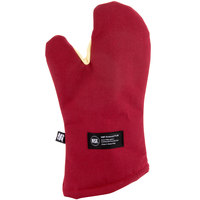 San Jamar KT0215 Cool Touch Flame™ 15 inch Oven Mitt with Kevlar® and Nomex®