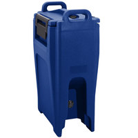 Cambro UC500PL186 Ultra Camtainer 5.25 Gallon Navy Blue Insulated Soup Carrier