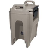 Cambro UC250PL194 Ultra Camtainer 2.75 Gallon Granite Sand Insulated Soup Carrier