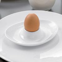 Villeroy & Boch 16-3272-1951 Stella Hotel 5 inch White Bone Porcelain Egg Cup - 6/Case