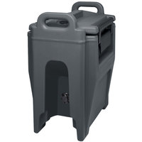 Cambro UC250PL191 Ultra Camtainer 2.75 Gallon Granite Gray Insulated Soup Carrier