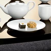 Villeroy & Boch 16-3272-2651 Stella Hotel 8 1/4 inch White Bone Porcelain Flat Coupe Plate - 6/Case