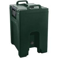 Cambro UC1000PL192 Ultra Camtainer 10.5 Gallon Granite Green Insulated Soup Carrier