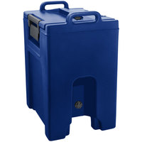 Cambro UC1000PL186 Ultra Camtainer 10.5 Gallon Navy Blue Insulated Soup Carrier