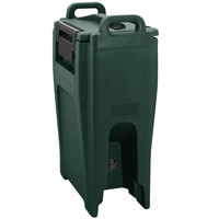 Cambro UC500PL192 Ultra Camtainer 5.25 Gallon Granite Green Insulated Soup Carrier
