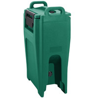 Cambro UC500PL519 Ultra Camtainer 5.25 Gallon Green Insulated Soup Carrier