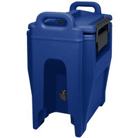 Cambro UC250PL186 Ultra Camtainer 2.75 Gallon Navy Blue Insulated Soup Carrier