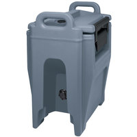 Cambro UC250PL401 Ultra Camtainer 2.75 Gallon Slate Blue Insulated Soup Carrier