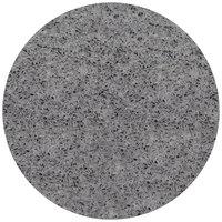 Art Marble Furniture Q405 36 inch Round Storm Gray Quartz Tabletop