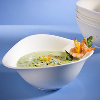 Villeroy & Boch 16-3293-3867 Dune 27 oz. White Porcelain Deep Coupe Bowl - 6/Case