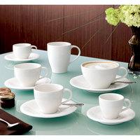 Villeroy & Boch 16-3293-9651 Dune 13.5 oz. White Porcelain Mug - 6/Case