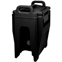 Cambro UC250PL110 Ultra Camtainer 2.75 Gallon Black Insulated Soup Carrier