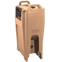 Cambro UC500PL157 Ultra Camtainer 5.25 Gallon Coffee Beige Insulated Soup Carrier