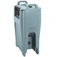 Cambro UC500PL401 Ultra Camtainer 5.25 Gallon Slate Blue Insulated Soup Carrier