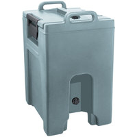 Cambro UC1000PL401 Ultra Camtainer 10.5 Gallon Slate Blue Insulated Soup Carrier