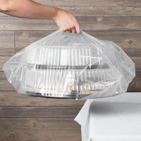 18 inch x 7 inch x 24 1/2 inch Catering Tray Bag - 50/Case