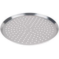 American Metalcraft CAR21P 21 inch Perforated Heavy Weight Aluminum Cutter Pizza Pan