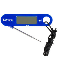 Taylor 1476FDA Digital Compact Folding Thermometer - 1.5mm Stepdown Probe
