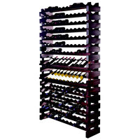 Franmara WM168-S Modularack Pro 168 Bottle Stained Wall Mount Wooden Modular Wine Rack
