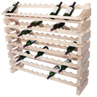 Franmara ED96-N Modularack Pro 96 Bottle Natural Wooden Modular Wine Rack End Display Unit