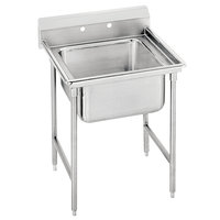 Advance Tabco 9-1-24 Super Saver One Compartment Pot Sink - 25 inch