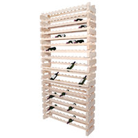 Franmara WM192-N Modularack Pro 192 Bottle Natural Wall Mount Wooden Modular Wine Rack