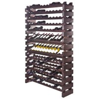 Franmara WM144-S Modularack Pro 144 Bottle Stained Wall Mount Wooden Modular Wine Rack