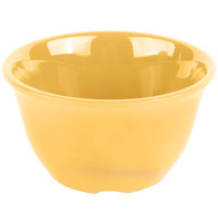 GET BC-70-TY Diamond Mardi Gras 7 oz. Tropical Yellow Melamine Bouillon - 48/Case