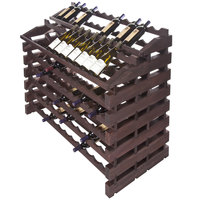 Franmara WF156-S Modularack Pro Waterfall 156 Bottle Stained Wooden Modular Wine Rack