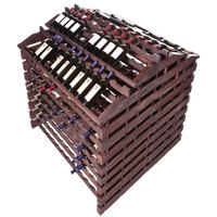 Franmara WFG408-S Modularack Pro Waterfall Gondola 408 Bottle Stained Wooden Modular Wine Rack