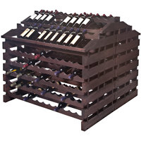 Franmara WFG312-S Modularack Pro Waterfall Gondola 312 Bottle Stained Wooden Modular Wine Rack