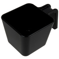 Carlisle 49122-103 20 oz. Black Polycarbonate Square Portion Scoop