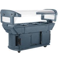 Carlisle 771159 Slate Blue 6' Maximizer Portable Food / Salad Bar