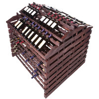 Franmara WFG360-S Modularack Pro Waterfall Gondola 360 Bottle Stained Wooden Modular Wine Rack